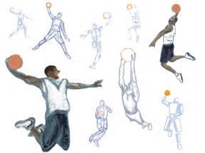 Basketball Drawings Sketches