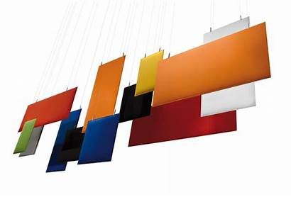 Panels Acoustic Hanging Baffle Acoustics Ceiling Caimi