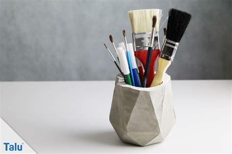 basteln mit frischhaltefolie basteln mit beton deko aus beton kreative ideen talu de