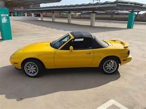 1992 Sunburst Yellow Na Mazda Miata