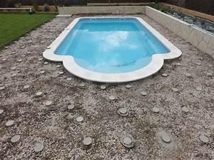 Geotextile Sous Gravier : la terrasse de la piscine 3 le g otextile le blog ~ Premium-room.com Idées de Décoration