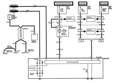 need wiring diagram for 1991 corvette alternator