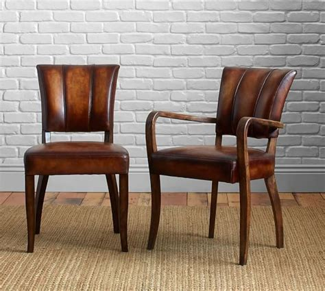 Leather Dining Armchair by Elliot Leather Dining Chair House Leather Dining
