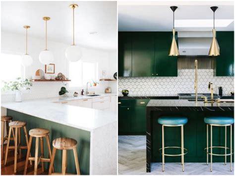 grille murale cuisine cuisine verte mur meubles électroménager déco
