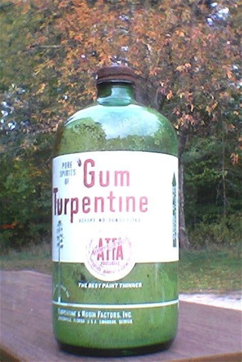 pure spirits  gum turpentine green  acl