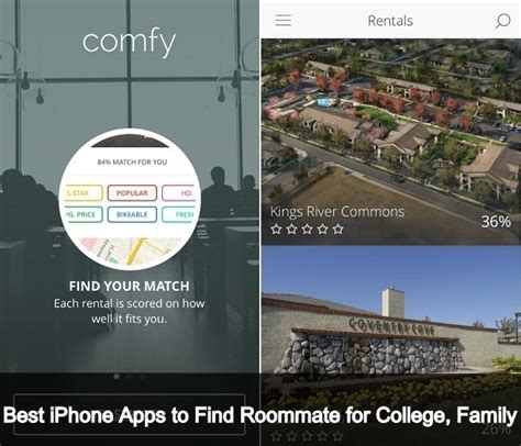 best iphone apps to find best iphone apps to find roommate for college