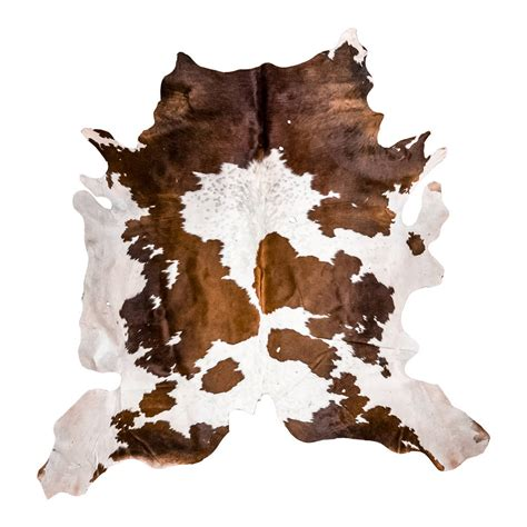How To Cowhide by Brown And White Cowhide Rug By Mahi Leather