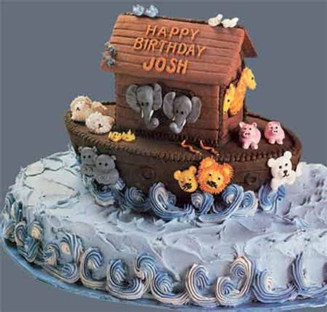 noahs ark buttercream baby shower cake cakecentralcom