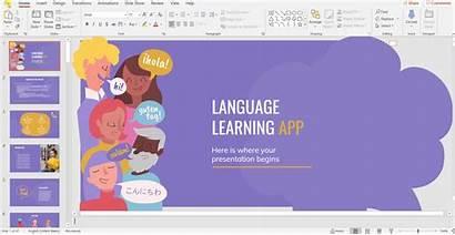 Powerpoint Language Change Display Changes Applying Slidesgo