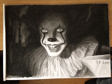 Pennywise (it 2017) By Commint On Deviantart