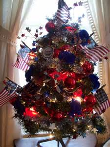 christmas trees red white  blue images