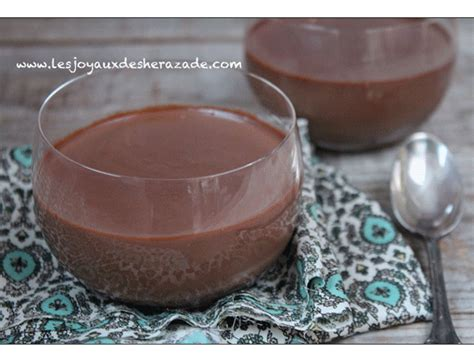 dessert express au chocolat cr 232 me au chocolat facile les joyaux de sherazade