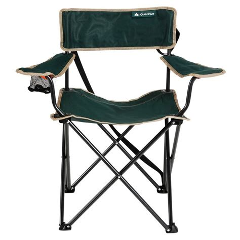 fauteuil pliant vert decathlon