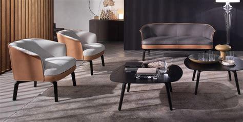 canapé contemporain poltrona frau meuble design pour salon et salle à manger 8 tables et