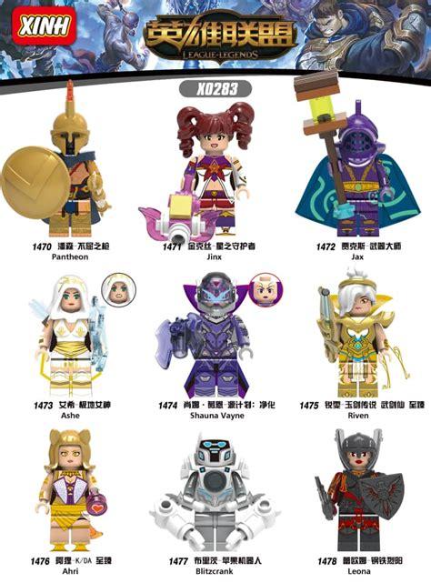 X0283 League Of Legends Mini Figures