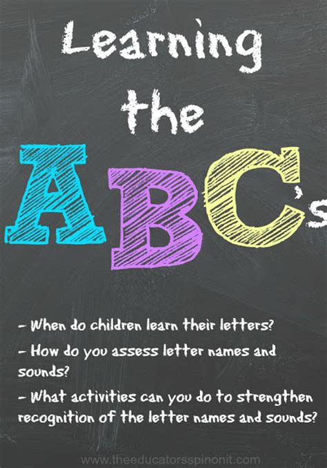 teaching the alphabet activities for children 780 | Learning2BABC