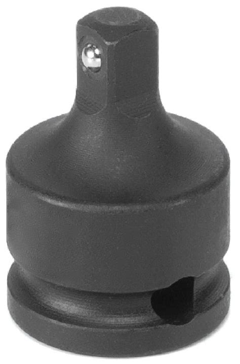 Grey Pneumatic 1138A 3/8 Inch Male Adapter w/ Friction Ball