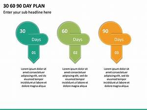 30 60 90 Day Plan Powerpoint Template