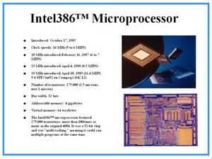 Intel Microprocessor Chip
