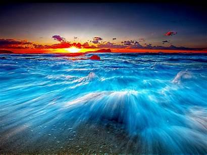 Ocean Beach Wave Stunning Waves Desktop Wallpapers