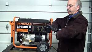 Flash Your Generac Portable Generator With A Corded Drill