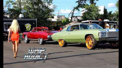 whipaddict florida 2 atlanta car show kandy paint donks big rims custom cars youtube