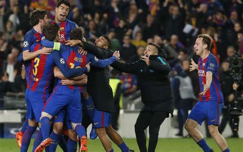 Le Barça signe un exploit et fait vivre l'enfer au PSG (6 ...