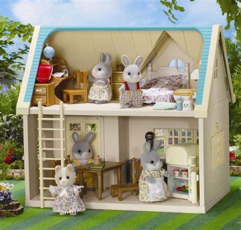 sylvanian families cottage sylvanian family applewood cottage toys thehut