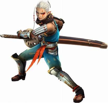Impa Zelda Legend Sword Characters Hyrule Warriors