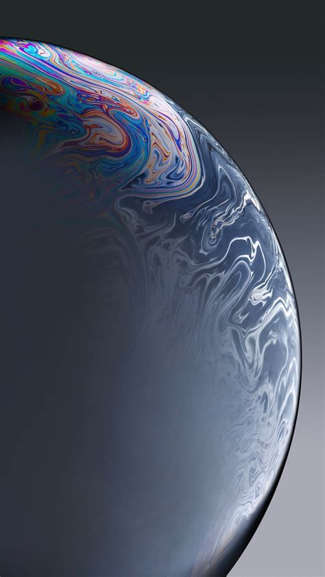 iphone xr grey bubble stock wallpapers hd wallpapers