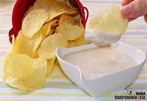 Salsa de queso y pimienta para patatas chips