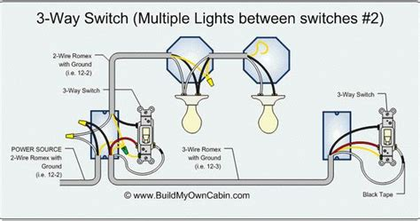 Way Switch Diagram Multiple Lights Between Switches