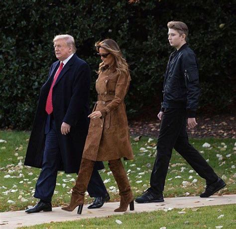 barron trump son donald dad his year melania towers taller recent where balance sneakers bulletproof jokes kid internet president him