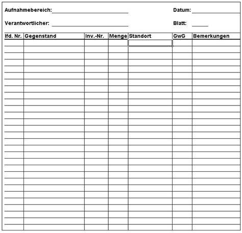 vorlage inventurliste kundenbefragung fragebogen muster
