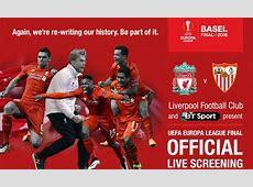 Tickets for Europa League final screening on general sale