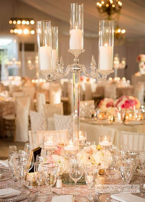 stunning wedding centerpieces  edition crystal