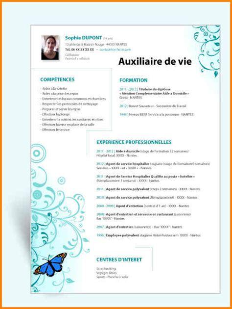 cv gratuit auxiliaire de puericulture