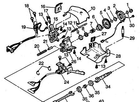 Ford Ranger Steering Column Diagram Wiring