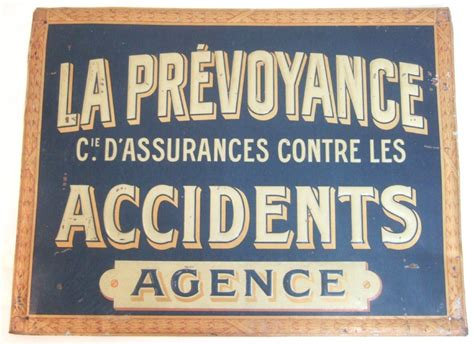 Insurance company in with addresses, phone numbers, and reviews. La Prvoyance Cie D'assurances French Pension Insurance Company Metal Sign | 289629 ...