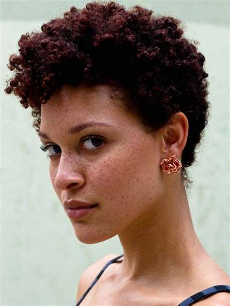 short natural hairstyles for black women simple