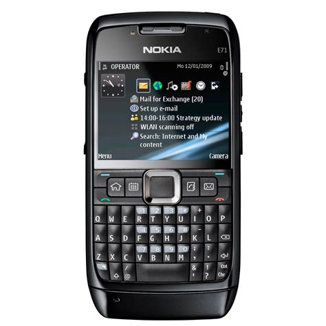 Nokia E71 Black  Unlocked 12 Mths AU Warranty + 4 Free