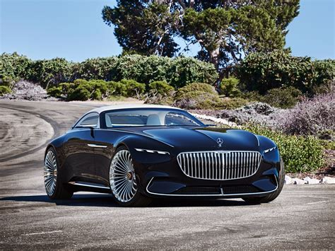 mercedes concept car the vision mercedes maybach 6 cabriolet rejects the pod