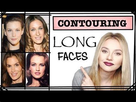 longslim faces part  contouring series youtube