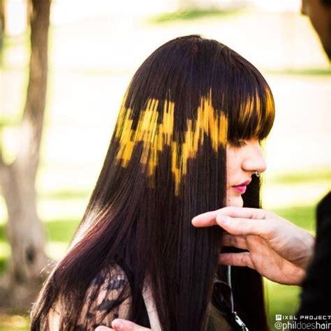 Coloring Unice Hair by Digital Hair Coloring Hair In 2019 Hair Stenciling