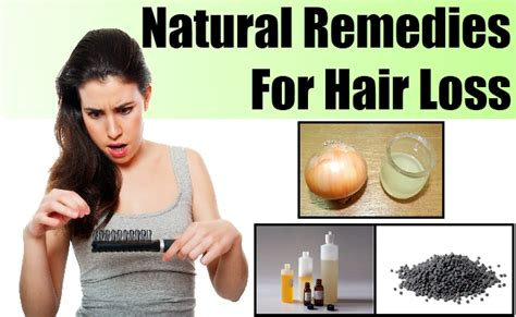 How To Treat Hair Loss Naturally  Natural Remedies For