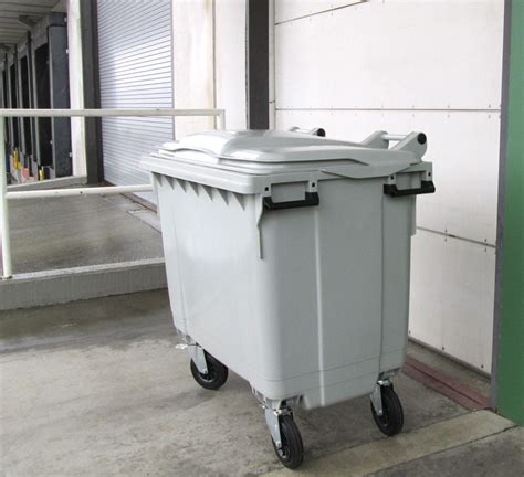 wheel secure collection cart busch systems usa