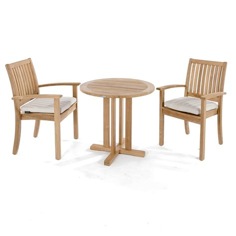 sussex  pc teak bistro set westminster teak