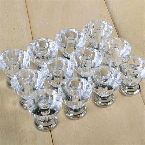 glass display cabinet hardware glass drawer pulls uk yeni 12x temizle kristal cam kap