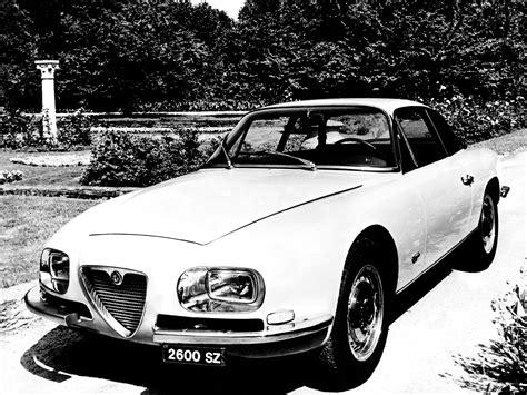 1965 Alfa Romeo 2600 SZ (Zagato) - Studios