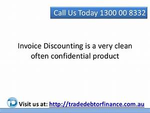 Invoice discounting and factoring for Confidential invoice factoring